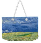 Wheatfields Under Thunderclouds Weekender Tote Bag