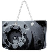 Wheel Bolts In Metal Weekender Tote Bag