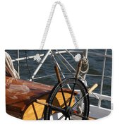 Sailingship Wheel Weekender Tote Bag