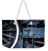 Wheel In Black II Weekender Tote Bag