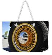 Wheel Nice Weekender Tote Bag