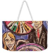 Wheel Of Fortune Pat Sajak And Vanna White Weekender Tote Bag