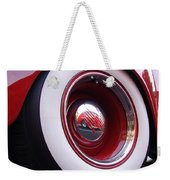 Wheel Reflection Weekender Tote Bag
