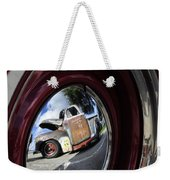 Wheel Reflections Weekender Tote Bag