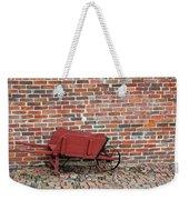 Wheelbarrow Weekender Tote Bag