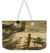 Wheelbarrow Girl  Weekender Tote Bag