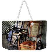 Wheelchairs Of Yesteryear By Kaye Menner Weekender Tote Bag