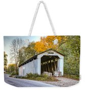 Wheeling Covered Bridge Weekender Tote Bag