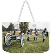 Wheeling The Cannon At Fort Mchenry In Baltimore Maryland Weekender Tote Bag