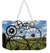 Wheels Weekender Tote Bag