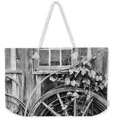 Wheels Wheels And More Wheels Weekender Tote Bag by Crystal Nederman