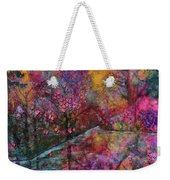 When Cherry Blossoms Fall Weekender Tote Bag