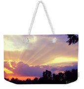 When Evening Comes Weekender Tote Bag