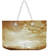 When It Is Cold Outside Weekender Tote Bag