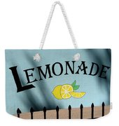 When Life Gives You Lemons Weekender Tote Bag