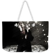 When Lights Dangle From Your Ceiling Fan Weekender Tote Bag
