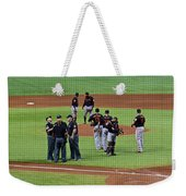 When No One Can Decide What To Call A High Fly Ball Weekender Tote Bag