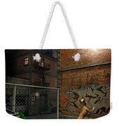 When Stars Fall In The City Weekender Tote Bag