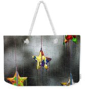 When Stars Melt Down Weekender Tote Bag