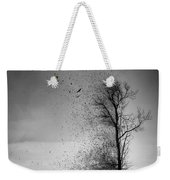 When The Darkness Gets Out Weekender Tote Bag