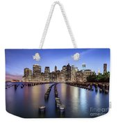 When The Lights Go On Weekender Tote Bag