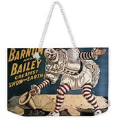 When The Show Was Great Clown Weekender Tote Bag