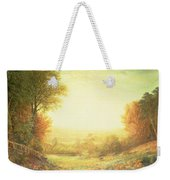 When The Sun In Splendor Fades Weekender Tote Bag by John MacWhirter