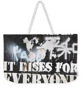 When The Sun Rises Weekender Tote Bag