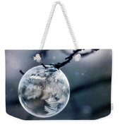 When The World Freezes Weekender Tote Bag