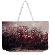 When Time Freezes Weekender Tote Bag