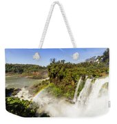 When Water Plays With Light Weekender Tote Bag