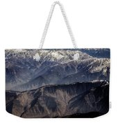 When You Climb Up A High Mountain, You'll See A Myriad Of Mountain Which You Need To Climb Again Weekender Tote Bag