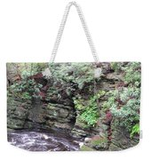 Where A Glacier Has Been Weekender Tote Bag