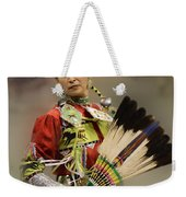Pow Wow Where Are You Now Weekender Tote Bag