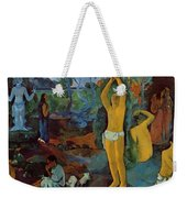 Where Do We Come From What Are We Where Are We Going 1897 Weekender Tote Bag