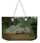 Where Does It Go Weekender Tote Bag