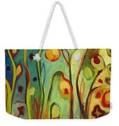 Where Does Your Garden Grow Weekender Tote Bag by Jennifer Lommers