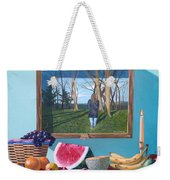 Where Fruit Of Life Lies Within Weekender Tote Bag