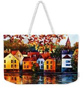 Where I Grew Up Weekender Tote Bag