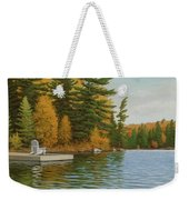 Where Life Is Easy Weekender Tote Bag