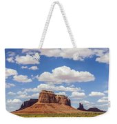 Where The Earth Meets The Sky Weekender Tote Bag