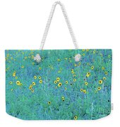 Where The Flowers Bloom Weekender Tote Bag