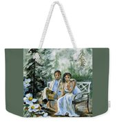 Where The Grass Is Green Weekender Tote Bag