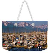 Where The Land Ends ... Weekender Tote Bag