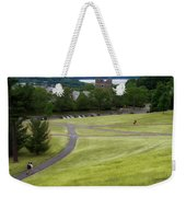 Where The Paths Cross Cornell University Ithaca New York Weekender Tote Bag