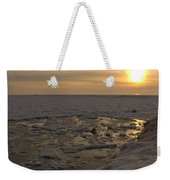 Where The Pier Meets The Sun Weekender Tote Bag