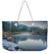 Where The River Bends Weekender Tote Bag