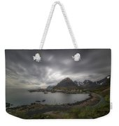 Where The Road Ends Weekender Tote Bag