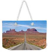 Where The Road Leads Weekender Tote Bag