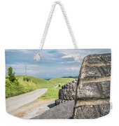 Where The Rubber Meets The Road Weekender Tote Bag